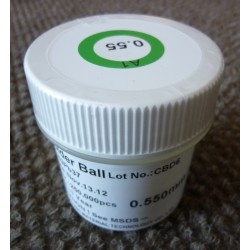 Калаени топчета (Soldering Balls) Sn63/Pb37, 0.55мм, 250 000 броя