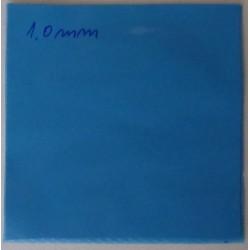 Термопроводими подложки за ремонт на лаптопи 100x100x1.0 Blue