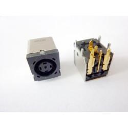 Захранваща букса (DC Jack) PJ030 7.5x0.7x5.0mm Dell, HP