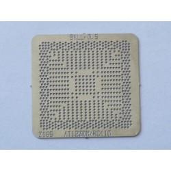 Шаблон (stencil, стенсил) ATI 1200M за ребол (reball) на BGA чипове