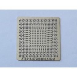 Шаблон (stencil, стенсил) ATI 216-0728018 за ребол (reball) на BGA чипове