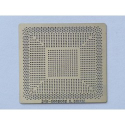 Шаблон (stencil, стенсил) ATI 215-0669065 за ребол (reball) на BGA чипове