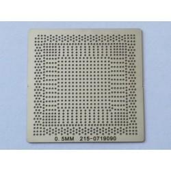 Шаблон (stencil, стенсил) ATI 215-0719090 за ребол (reball) на BGA чипове