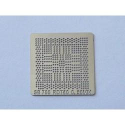 Шаблон (stencil, стенсил) ATI SB700 за ребол (reball) на BGA чипове