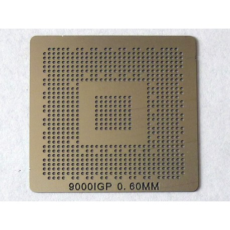 Шаблон (stencil, стенсил) ATI 9000IGP за ребол (reball) на BGA чипове