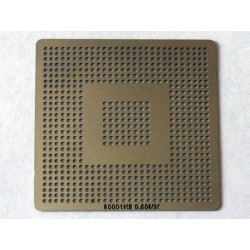 Шаблон (stencil, стенсил) Intel 80001HB за ребол (reball) на BGA чипове