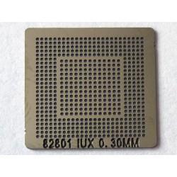 Шаблон (stencil, стенсил) Intel 82801IUX за ребол (reball) на BGA чипове