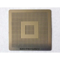 Шаблон (stencil, стенсил) Intel 82801FBM за ребол (reball) на BGA чипове