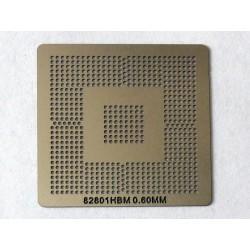 Шаблон (stencil, стенсил) Intel 82801HBM за ребол (reball) на BGA чипове