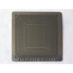 Шаблон (stencil, стенсил) Intel AC82GS45 за ребол (reball) на BGA чипове