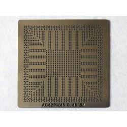 Шаблон (stencil, стенсил) Intel AC82PM45 за ребол (reball) на BGA чипове