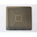 Шаблон (stencil, стенсил) ATI IXP460 за ребол (reball) на BGA чипове