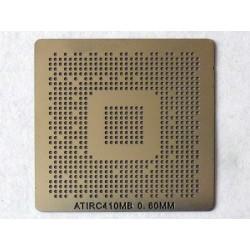 Шаблон (stencil, стенсил) ATI RC410MB за ребол (reball) на BGA чипове