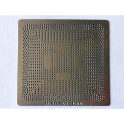 Шаблон (stencil, стенсил) ATI RS800ME за ребол (reball) на BGA чипове