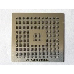Шаблон (stencil, стенсил) ATI X1600 за ребол (reball) на BGA чипове
