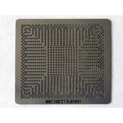 Шаблон (stencil, стенсил) Intel BD82HM55 за ребол (reball) на BGA чипове