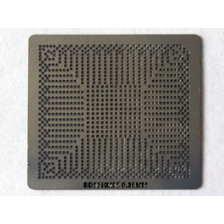 Шаблон (stencil, стенсил) Intel BD82H55 за ребол (reball) на BGA чипове