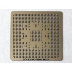 Шаблон (stencil, стенсил) nVidia GO6200 GO7600 за ребол (reball) на BGA чипове