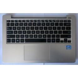 Горен капак (с клавиатура, тъчпад, високоговорители) за Asus VivoBook S200E, 13GNFQ1AM071-2 FBEX2012010