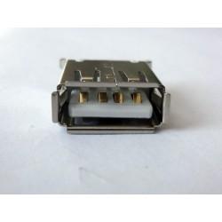 USB-A Female Vertical 180° jack (букса)