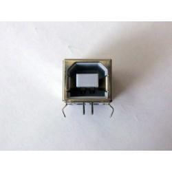 USB-B Female 90° jack (букса)