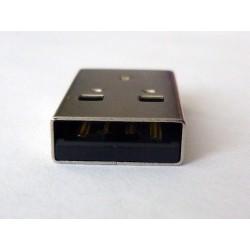 USB-A Male 90° Bend jack (букса)