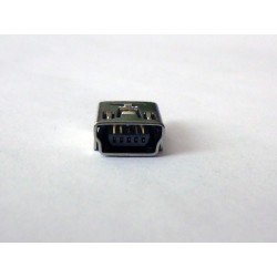 Mini USB Female 5P Vertical jack (букса)
