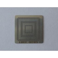 Шаблон (stencil, стенсил) CXD1876 за ребол (reball) на BGA чипове