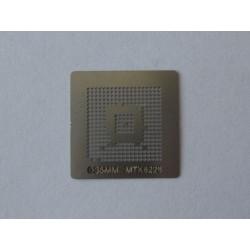 Шаблон (stencil, стенсил) MTK6226 за ребол (reball) на BGA чипове
