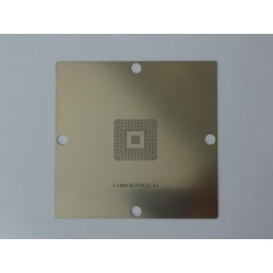 Шаблон (stencil, стенсил) 90x90мм MCP89UZ-A3 за ребол (reball) на BGA чипове