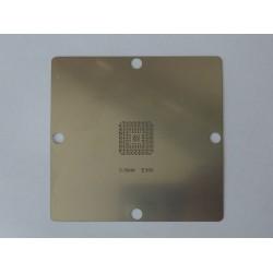 Шаблон (stencil, стенсил) 90x90мм E350 за ребол (reball) на BGA чипове