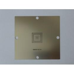 Шаблон (stencil, стенсил) 90x90мм G86-631-A2 за ребол (reball) на BGA чипове