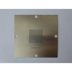 Шаблон (stencil, стенсил) 90x90мм универсален 0.60мм 30x30мм за ребол (reball) на BGA чипове