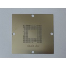 Шаблон (stencil, стенсил) 90x90мм CXD2964GB за ребол (reball) на BGA чипове