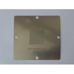 Шаблон (stencil, стенсил) 90x90мм XBOX360XCPU C-A01 за ребол (reball) на BGA чипове