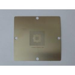 Шаблон (stencil, стенсил) 90x90мм 82801DBM 82801DB за ребол (reball) на BGA чипове