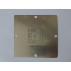 Шаблон (stencil, стенсил) 90x90мм 82801EB за ребол (reball) на BGA чипове