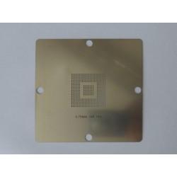 Шаблон (stencil, стенсил) 90x90мм IXP 150 за ребол (reball) на BGA чипове