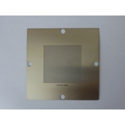 Шаблон (stencil, стенсил) 90x90мм универсален 0.76мм P1.27 46x46мм за ребол (reball) на BGA чипове