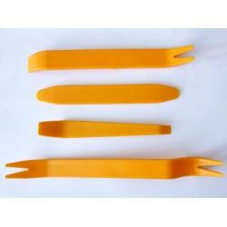 Инструменти за отваряне на пластмасов панел HF-090, 4 броя