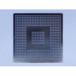 Шаблон (stencil, стенсил) Intel 82801GBM за ребол (reball) на BGA чипове