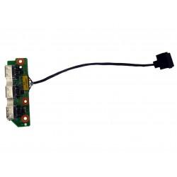 Платка с USB портове с кабел за Packard Bell Easynote VVP00