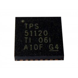 Чип Texas Instruments Synchronous Step-Down Controller With 100-mA Standby Regulators TPS51120, нов
