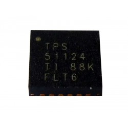 Чип Texas Instruments Synchronous Step Down Controller for Low Voltage System Power TPS51124, нов