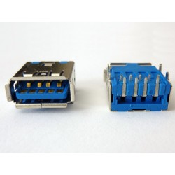 USB-A 3.0 Female USB-23 jack (букса)