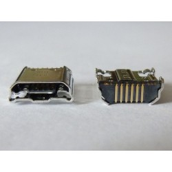 Micro-B USB Female jack (букса) за платка Samsung SAM-14