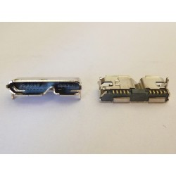 Micro-B USB 3.0 Female 10p SMT type, mic-24 за преносими дискове