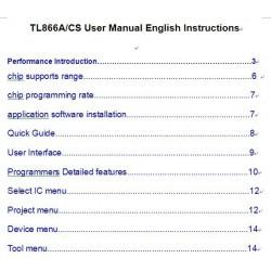 Документация Minipro TL866