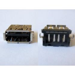 USB-A 2.0 Female USB-10 jack (букса)