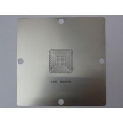 Шаблон (stencil, стенсил) 90x90мм Intel BD82HM65 за ребол (reball) на BGA чипове